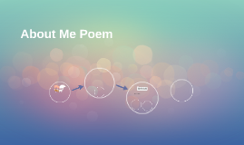 About Me Poem