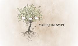 SWPE Writing  (Practice/Groups)