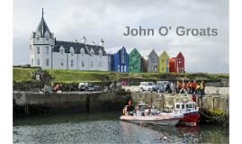 English presentation John O'Groats