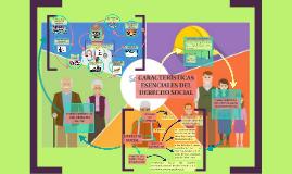 Características escenciales del derecho social