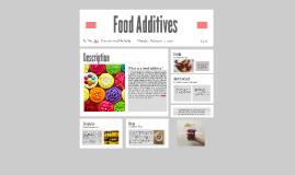 Planning 10 Food Additives