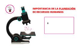 Copy of IMPORTANCIA DE LA PLANEACIÓN DE RECURSOS HUMANOS