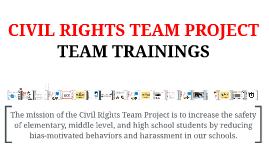 2013 Elementary Trainings