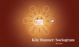 Kite Runner: Sociogram