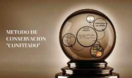 """METODO DE CONSERVACION """"CONFITADO"""""""