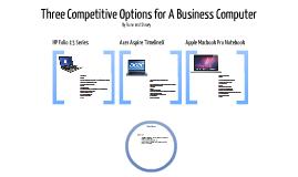 Business Computer Decision