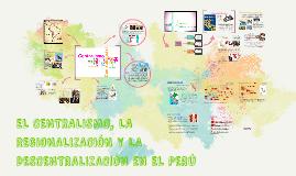 Copy of EL CENTRALISMO, LA REGIONALIZACIÓN Y LA DESCENTRALIZACIÓN EN