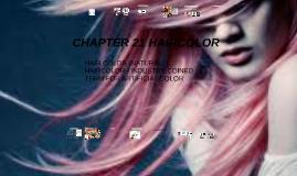 CHAPTER 21 HAIRCOLOR