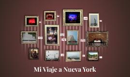Mi Viaje a Nueve York