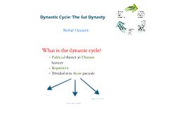 Dynastic Cycle: Sui Dynasty