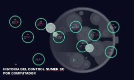 HISTORIA DE LA MAQUINA CNC