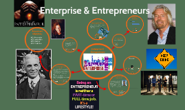 Enterprise & Entrepreneurs