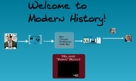 Introduction to Modern History 2017