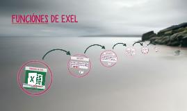 FUNCIÓNES DE EXEL