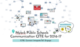 Copy of NPS Communication CITE for 2016-17