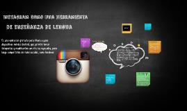 Instagram como una herramienta de enseñanza de lengua