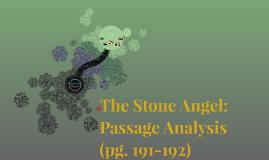 The Stone Angel: Passage Analysis