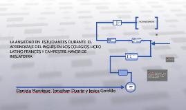 Copy of LA ANSIEDAD EN ESTUDIANTES DURANTE EL APRENDIZAJE DEL INGL
