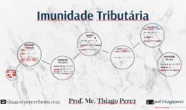 Imunidade Tributária