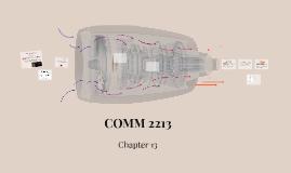 COMM 2213