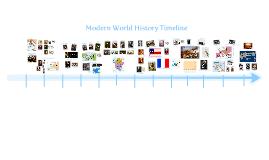 Copy of Copy of Copy of Modern World History Timeline