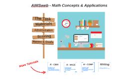 AIMSweb Math CAP