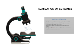 Copy of EVALUATION OF GUIDANCE