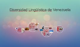 Diversidad Lingüística de Venezuela