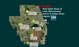 How is water discharged in to the Indian River Lagoon?