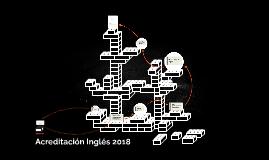 Acreditación Inglés 2018