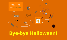 Halloween unit for 6th graders