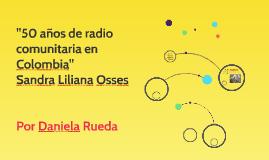 50 años de radio comunitaria en Colombia