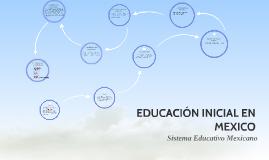 EDUCACIÓN INICIAL EN MEXICO