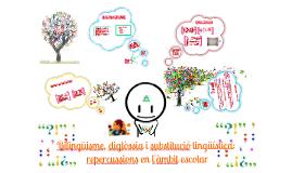 Copy of  Contacte de llengües: Bilingüisme, diglòssia i substitució lingüística: