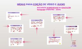 PEDAGOGIA UAB - RECURSOS AUDIOVISUAIS NA EDUCAÇÃO