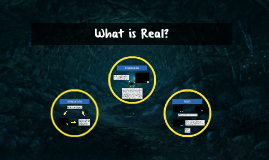 NEW What is Real?
