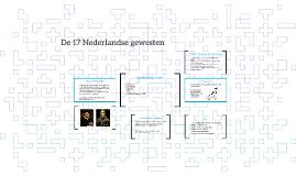 De 17 Nederlandse gewesten