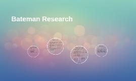 Bateman Research