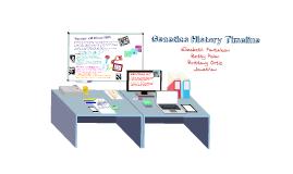 Copy of Genetics History Timeline