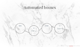 Automated houses