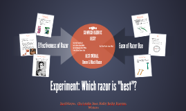 Experiment: Which razor is most efficient?