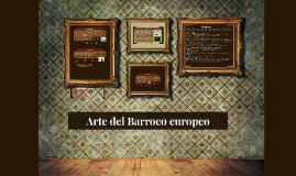 Arte del Barroco europeo