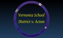 the 1995 case of vernonia school district v acton