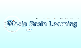 Copy of whole brain learning (brain)
