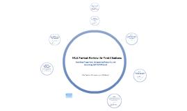 MLA Skills Review