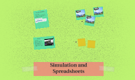Simulation and Spreadsheets