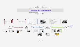 Copy of Las olas del feminismo