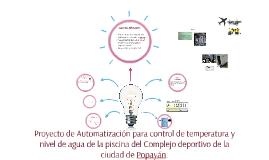 Proyecto de automatización para control de temperatura y niv