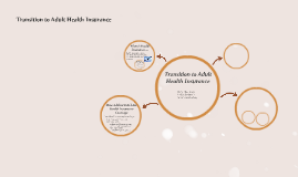 Copy of Transition to Adult Health Insurance