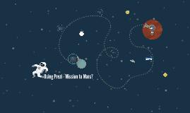 Using Prezi - Mission to Mars?